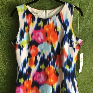 Maggy London Brushstroke Flower Dress